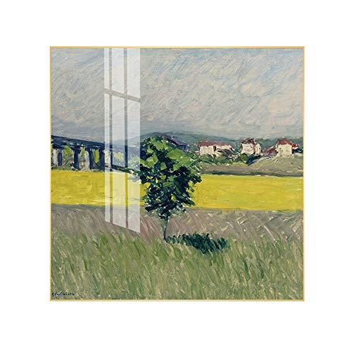 ZUEN Minimalista Moderno Lienzo Mural Impresión del Arte Matisse Pintura al óleo Famosa Conveniente para la Sala de Estar Sofá/Dormitorio/Oficina/Hotel Pintura Decorativa,H,40 * 40cm