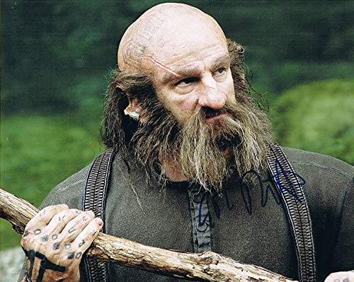 GRAHAM McTAVISH - The Hobbit's Dwalin AUTOGRAPH Signed 8x10 Photo B
