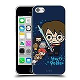 Head Case Designs Ufficiale Harry Potter Personaggi Deathly Hallows I Cover in Morbido Gel Compatibile con Apple iPhone 5c