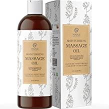 Relaxing Massage Oils for Massage Therapy - Sensual Massage Oil with Aromatherapy Oils for Body Massage - Sensitive Skin Anti Aging Moisturizer and Body Oil for Dry Skin Care with Jojoba Oil for Skin