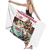 James Bond ジェームズボンド バスタオル Bath Towel 男女兼用 マイクロファイバー ふわふわ 抜群の肌触り なめらかな触り心地 吸水抜群 抗菌防臭 水泳 浴用 大判 オシャレ