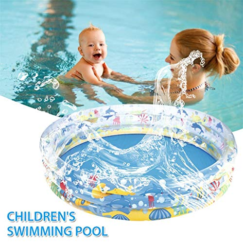 WYFDM Baby aufblasbare Schwimmbecken Kinderspielzeug Planschbecken Tub Sand Pool Ozean Ball Pool Großer Familienpool,183 * 33cm