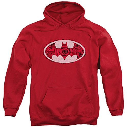 Batman - Sudadera con capucha - para hombre rojo XXX-Large