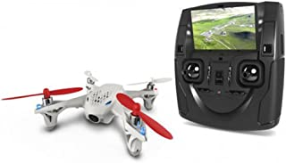 HUBSAN H107D X4 Drone FPV 480P Camera Live Video 5.8GHz Quadcopter Mode 2 RTF (White)