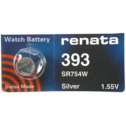 Renata 393 Pile bouton pour montre