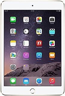Apple iPad Mini 3 64GB Oro - Tablet (Minitableta, IEEE 802.11n, iOS, Pizarra, iOS, Oro) (Reacondicionado)