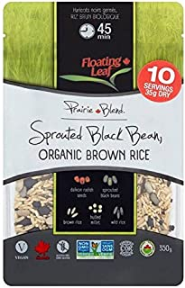Floating Leaf Sprouted Black Beans Organic Wild Rice - 350g (0.77lbs)