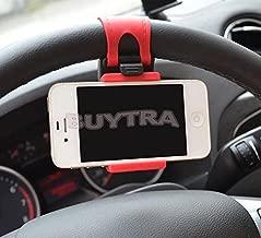 Leader-Star comodo auto volante supporto elastico per iPhone iPod Smart MP4 per GPS