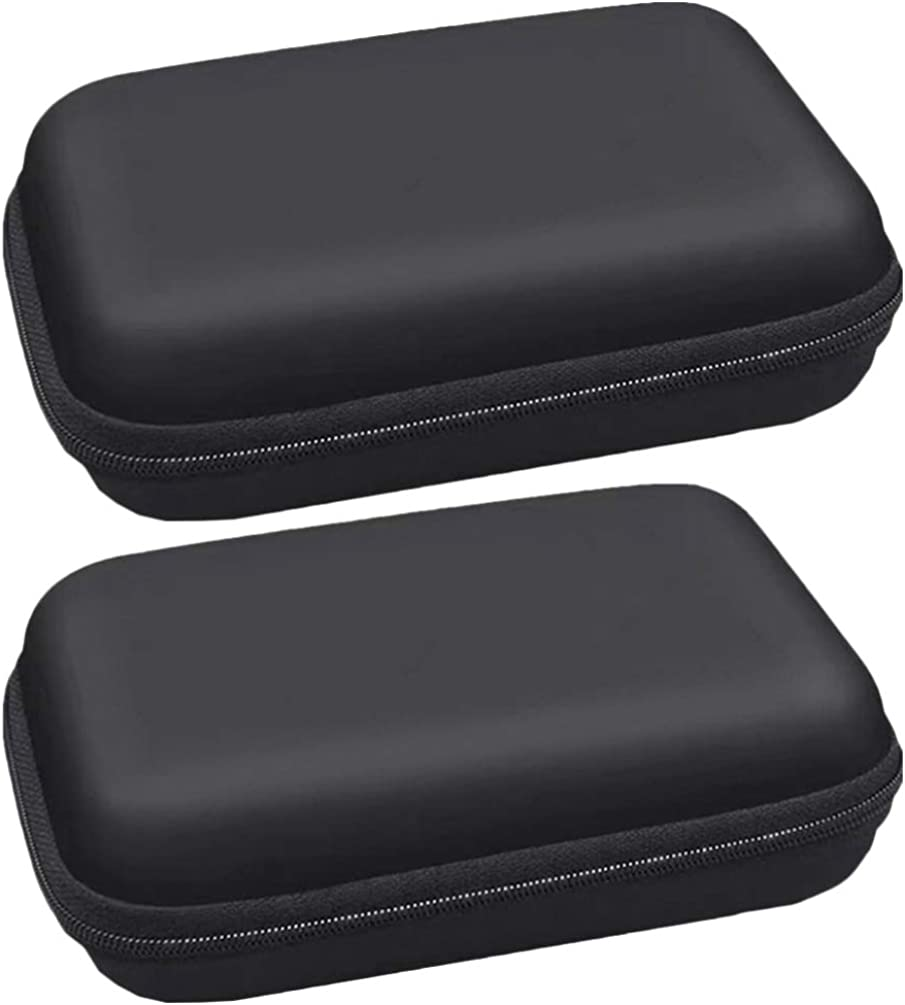 VALICLUD 2pcs Atlanta Mall Cable Storage Pouch Hard Resistant Drive Impact Or New Orleans Mall