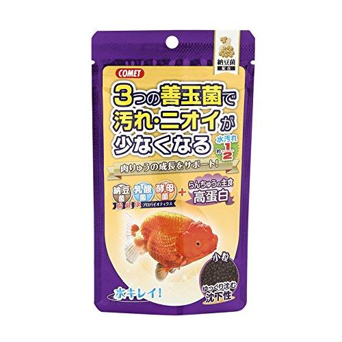コメット らんちゅうの主食納豆菌 沈下性 小粒90g