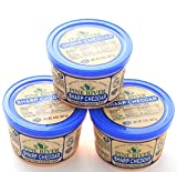 Made by blending cuts of Grade A - Wisconsin State Brand - Natural Cheddar, aged nine months, with cream and other dairy ingredients Perfect for spreading, dipping and recipes 3 - 8oz tubs