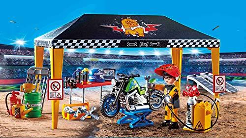 Taller de coches Playmobil StuntShow (70552)