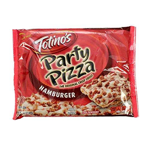 Totinos Hamburger Party Pizza, 10.9 Ounce -- 14 per case.