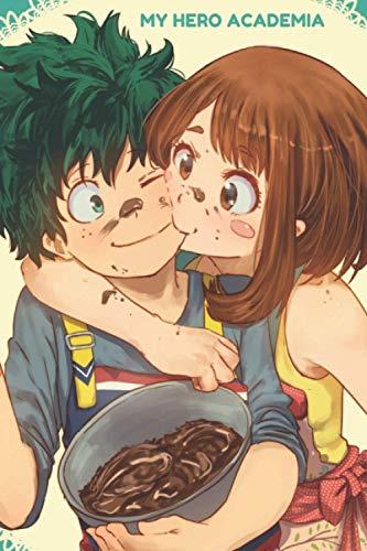 My hero academia vol. 17 Notebook: manga My hero academia 1 to 17 Lined paper Izuku Midoriya