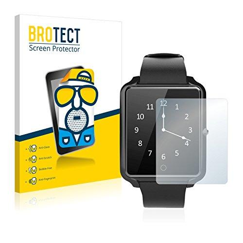 BROTECT Protector Pantalla Anti-Reflejos Compatible con Bluboo U Watch (2...