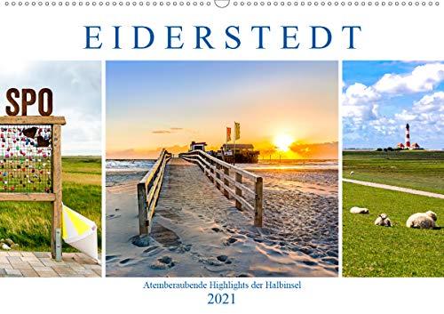 EIDERSTEDT-HIGHLIGHTS (Wandkalender 2021 DIN A2 quer)