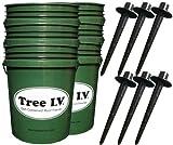 Tree I.V. Original 6-pk   Quick-Fill Deep-Soak Easy-Store   Use for All Trees, Bushes, Plants