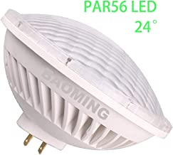 BAOMING PAR56 LED BULB Neutral White (4000K) LED Spot Light 24°Beam Angle 28W Replace Standard PAR 56 300 Watt Light AC/120V Base Type: GX16D