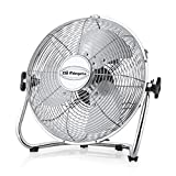 Orbegozo PW 0851 - Ventilador industrial Power Fan, aspas metálicas de 50 cm de diámetro, 3 velocidades de ventilación, asa de transporte y rejilla de seguridad, 155 W de potencia