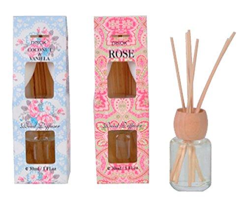 Disok Bloemen luchtverfrisser in de vorm van stickers, 30 ml, voor bruiloften, doop en communie, prijs per stuk, cadeaus voor thuis