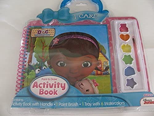 Doc McStuffins Activity Book with Handle by Disney