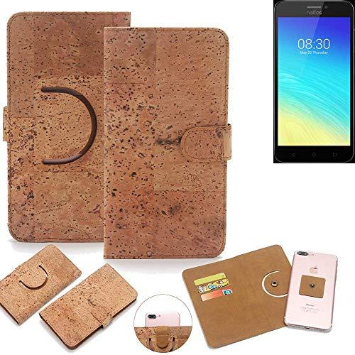 K-S-Trade® Handy Schutz Hülle Für TP-LINK Neffos Y5S Korkhülle 1x