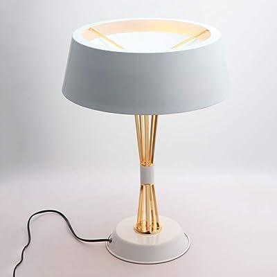 HWZQHJY Nordic Lámpara de mesa pequeña Dormitorio creativo Lámpara ...