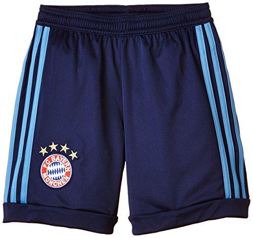 adidas Jungen Heimshorts Torwart FC Bayern München Replica, Dark Blue/Lucky Blue, 176