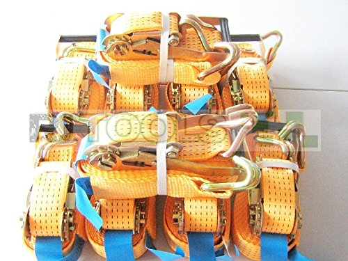 10 x 5000 kg spanband 10 m EN 12195-2 ratel sjorriem spanriem ratelspanband tweedelig 5 T