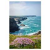 artboxONE Poster 30x20 cm Natur Frühling an Cornwalls
