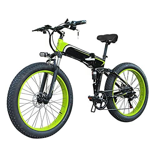 TERLEIA Bicicleta Eléctrica Motor De 350W Frenos De Disco Delanteros Y Traseros...