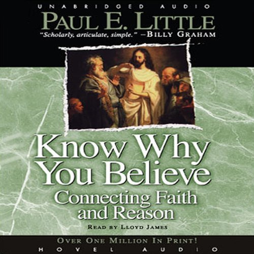 Know Why You Believe audiobook cover art