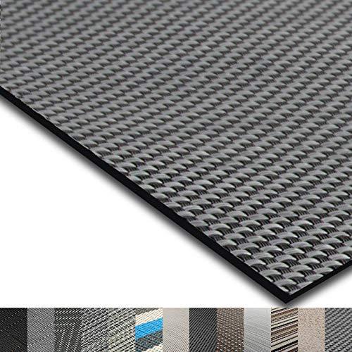 casa pura® Indoor- und Outdoor-Bodenbelag Lucca | kunstvoll gewebter Terrassenteppich | als Outdoor Teppich Meterware oder Läufer für innen | 40 Größen (60x100cm)