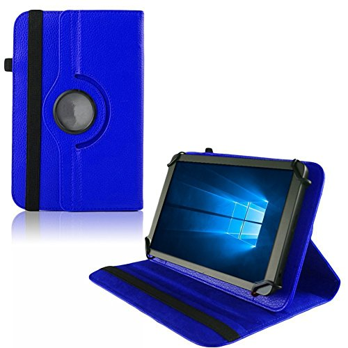 Nauci Tablet Hülle ARCHOS 101b Xenon Tasche Schutzhülle Universal Case Cover Bag, Farben:Blau
