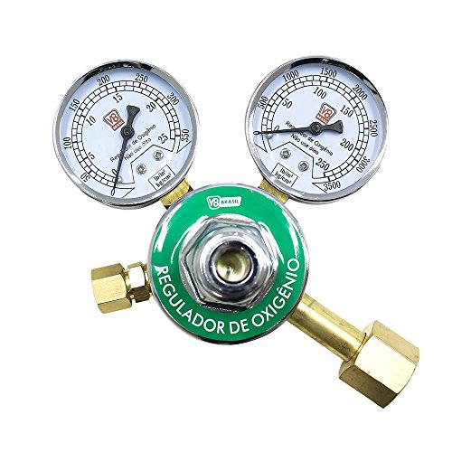 Regulador de Pressão de Oxigênio, V8 Brasil 110177