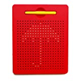 xcivi Free Play Doodle Magnetic Board Magnetic Drawing Tablet (Red)