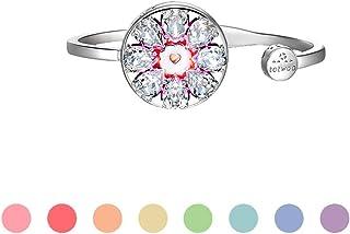 totwoo Smart Jewelry Bracelet Necklace,Couple Bracelet Necklace Simultaneously Induction Vibration Calling Vibrating Flash...