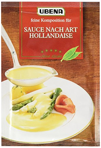 Ubena Sauce Hollandaise, 4er Pack (4 x 25 g)