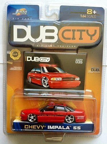 los clientes primero Jada Dub City City City Chevy Impala SS Fire Dept.  035 by Jada  hermoso