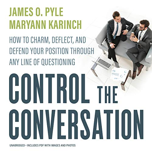 Control the Conversation audiobook cover art