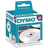 Dymo S0719250 - Etiquetas adhesivas, 57 mm, color blanco