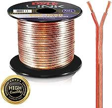 Pyle PSC1850 18-Gauge 50-Feet Spool of Speaker Zip Wire