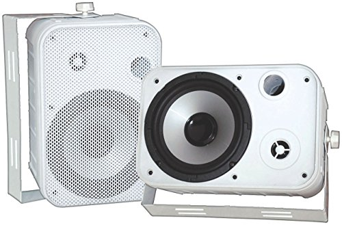Best Bargain Pyle New - 6.5 Indoor/Outdoor Speakers PDWR50W