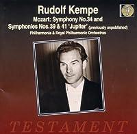 Symphonies Nos.34 39 & 41