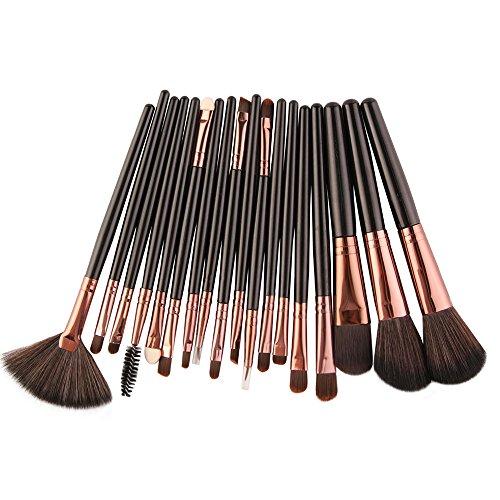 Professionnel de haute qualitéNouveau 18 pcs Set d'outils Trousse toilette en laine Up Brush Set Canifon