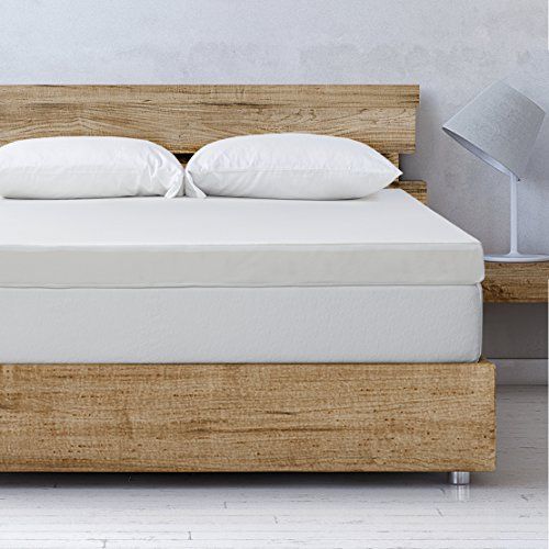Best Price Mattress Full Mattress Topper - 4 Inch Memory Foam Bed Topper with Cover and Cooling Mattress Pad, Full Size