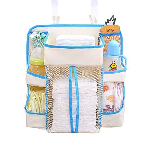 JOYKK wieg nachtkastje opbergtas luiertas multifunctionele kinderen zuigelingen kinderwagen zakken rek voor baby benodigdheden