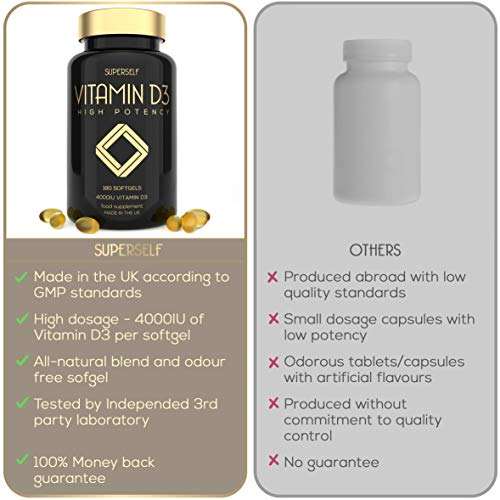 Vitamin-D-4000-IU-180-Vitamin-D3-Softgel-Capsules-High-Strength-and-High-Absorption-Cholecalciferol-4000IU-UK-Made-Easy-to-Swallow-Softgels-VIT-D-Supplement-for-Bones-Teeth-Immune-System