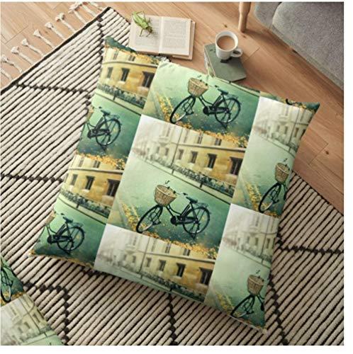 Zwzxyz Flor Zorro Estampado Decorativo cojín sofá Funda de Almohada decoración de Primavera para decoración del hogar Funda de Almohada