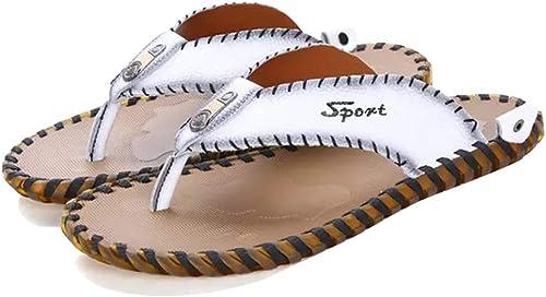 MYXUAA Chaussures Chaussures de plein air pour hommes Tongs de mode Thongs Décontracté Chaussures de plage  sports chauds